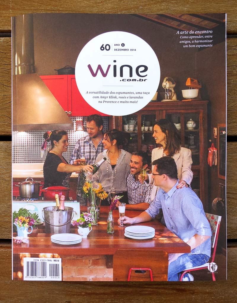 Capa Revista Wine